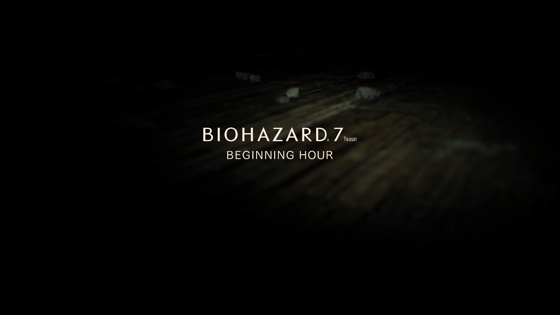 BIOHAZARD 7 TEASER - BEGINNING HOUR -_20160916200205